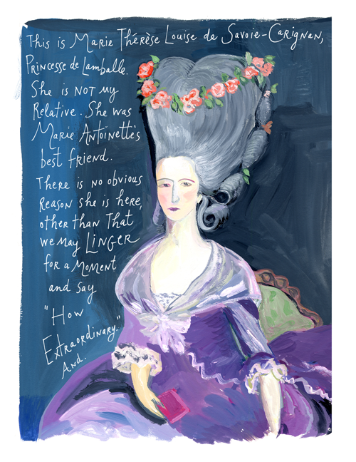 Maira Kalman - The Principles of Uncertainty - The New York