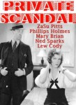 Private Scandal Poster