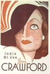 Poster from Sadie McKee with Joan Crawford
