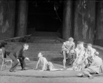 Reinhardt on the set of midsummer's nights dream