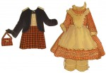 Shirly Temple Paper Clothes