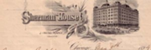 Sherman House Stationery