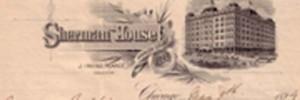 Sherman House Stationery