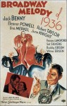 Poster Broadway Melody of 1936