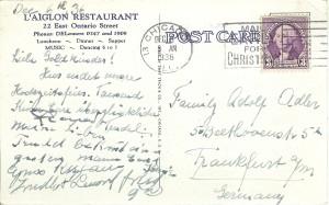 LAiglon Postcard